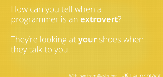 programmers-are-extroverts