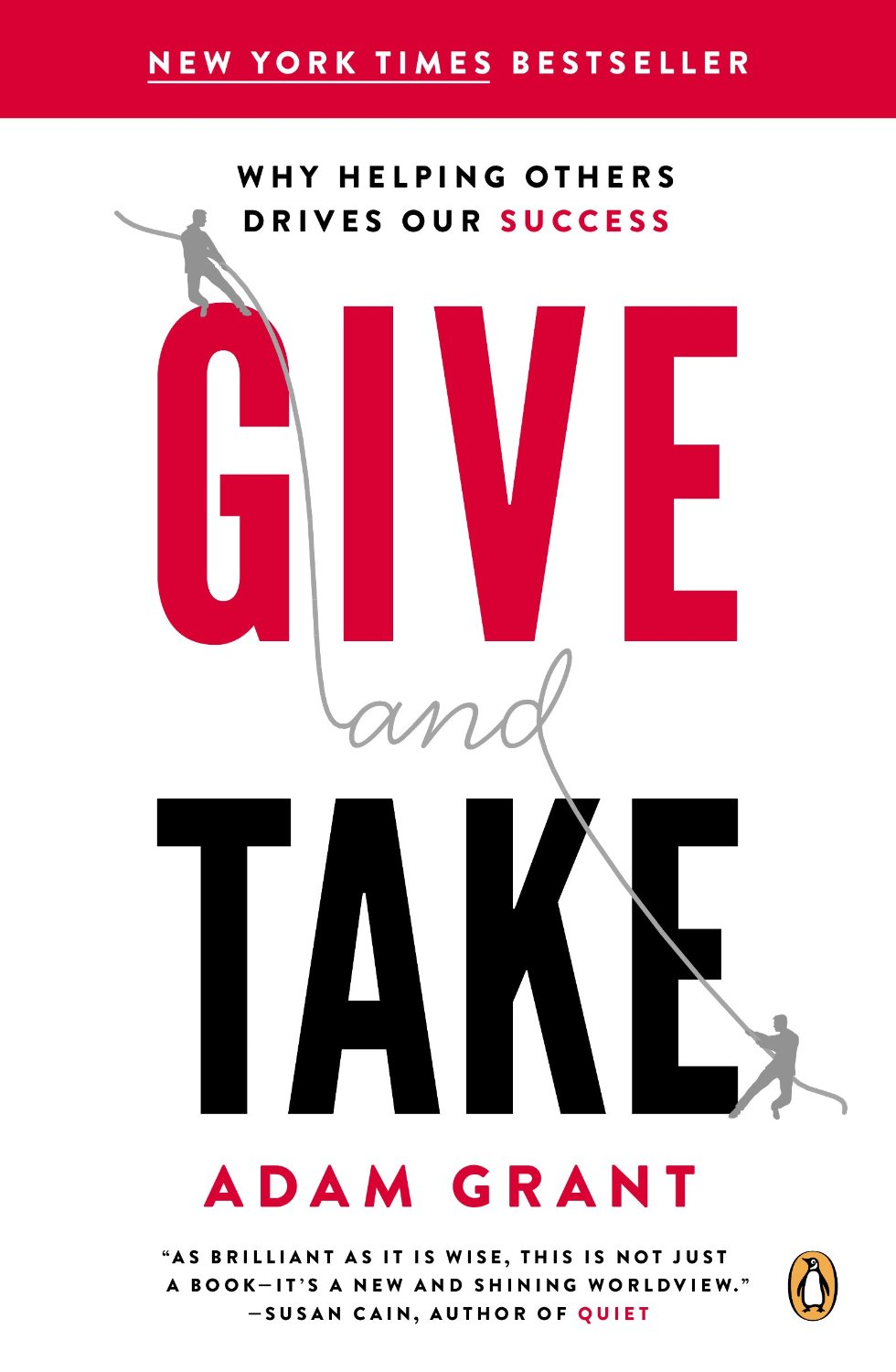 the importance of doing good to others in give and take a book by adam grant