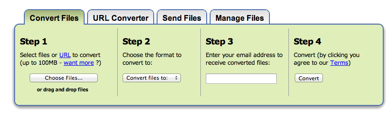Zamzar: The Only Tool You Need for File Conversion - LaunchRiot